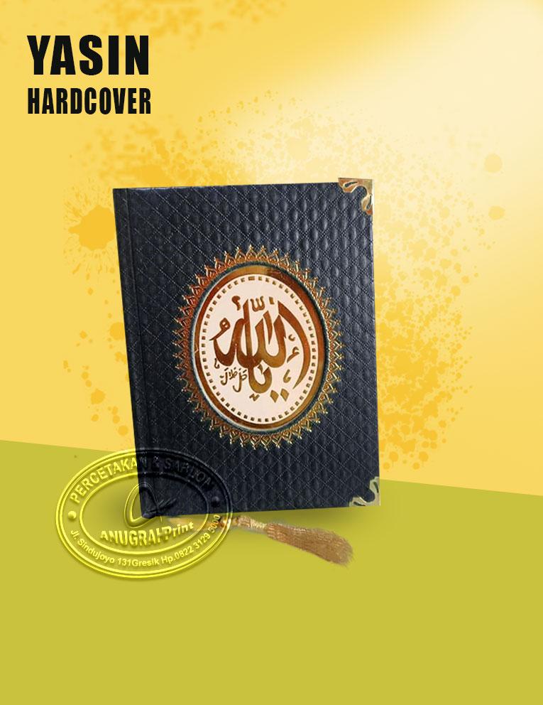 cover buku yasin custom