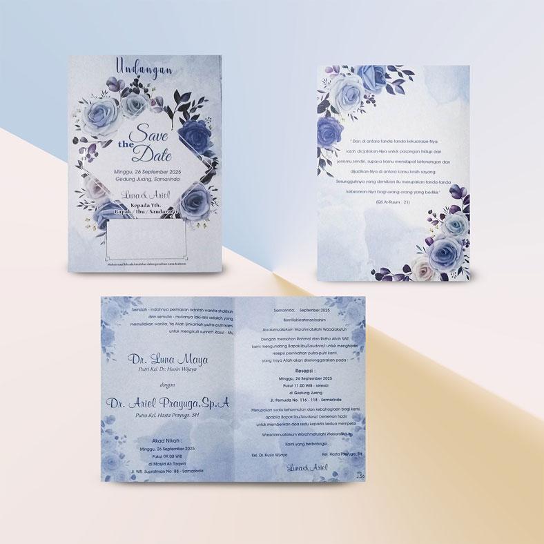 Jual cetak undangan pernikahan jago 56