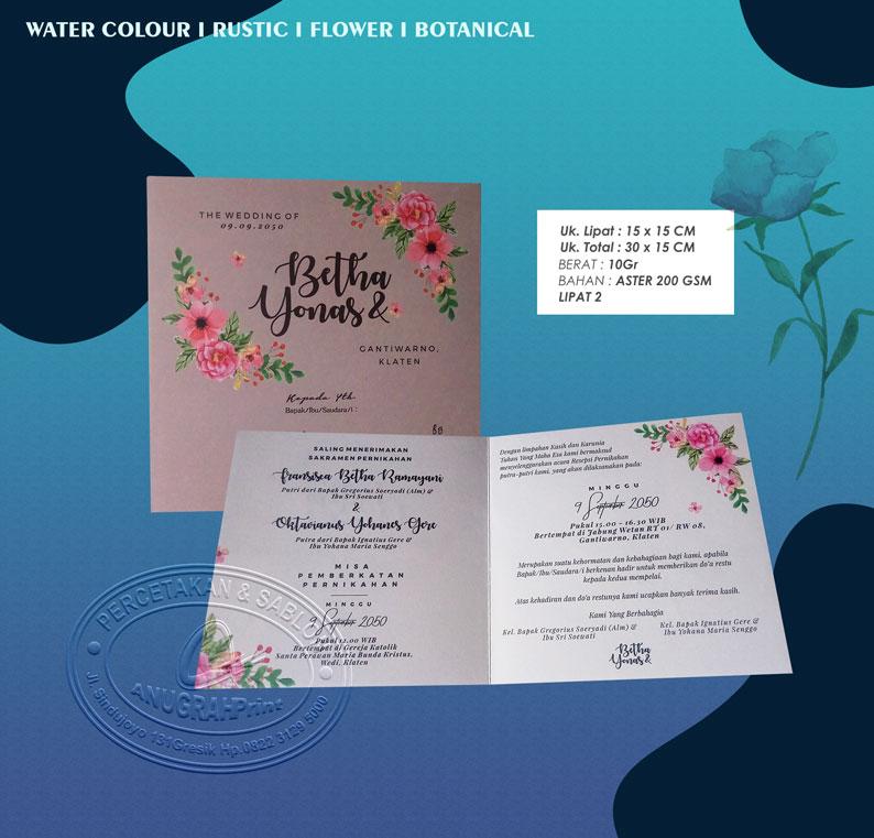 Jual cetak undangan pernikahan sca 001