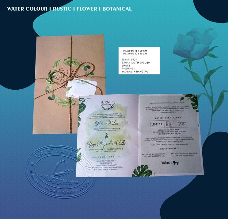 Jual cetak undangan pernikahan scf 001